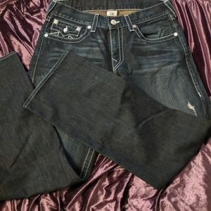 True Religion Straight Jeans 34